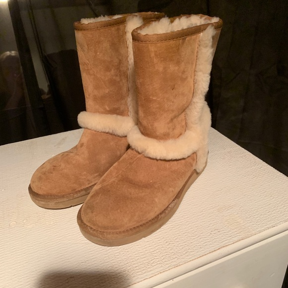 UGG Shoes | Uggs With Fur On Side